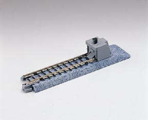 20-046  Ground Level Brick Buffer Stop 62mm Straight Track