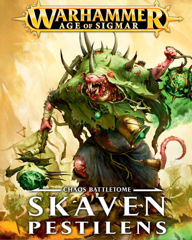 Battletome: Skaven Pestilens (Hardback) (English)