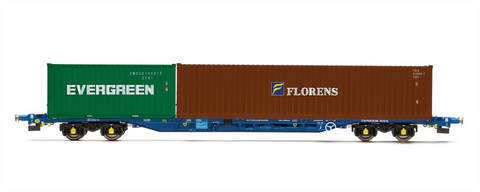 R6558 KFA - Container Wagon - Evergreens/Florens