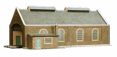 SQA5  Two Road Locomotive Shed OO scale