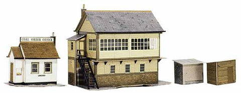 SQA6  Signal Box and Coal Order Shed OO scale