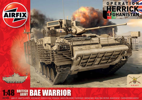 BAE Warrior 1:48 - A07300