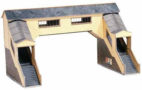 SQA9  Covered Footbridge OO scale