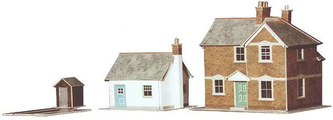 SQA11  Station Master's House and Gatekeeper's Cottage OO scale