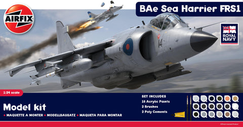 BAe Sea Harrier FRS1 Gift Set 1:24 - A50010