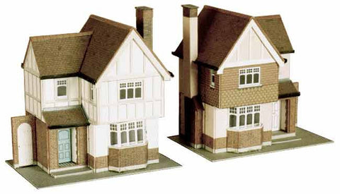 SQB23  2 Detached Houses OO scale