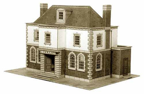 SQB25  Police Station or Public Library OO scale