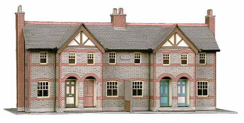 SQB30  Four Terrace Cottages OO scale