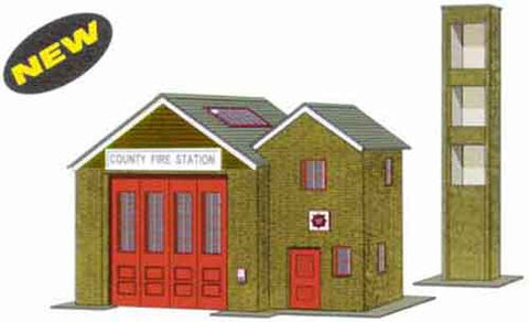 SQB36  Country Fire Station OO scale