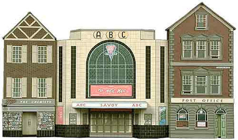 SQC2  Cinema, Post Office and Shop OO scale