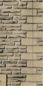 SQD10  Grey sandstone walling OO scale