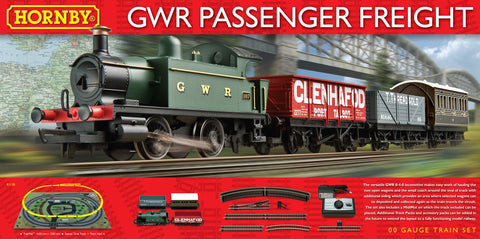 R1138 GWR Passenger Freight Train Set