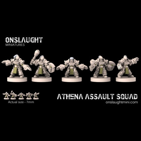 Sisterhood Athena Assault Squad??