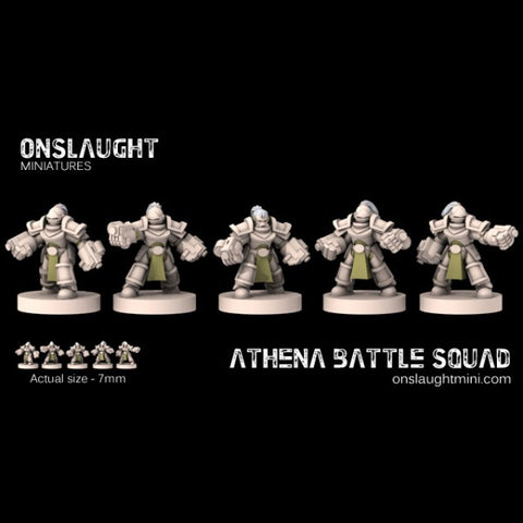 Sisterhood Athena Battle Squad??