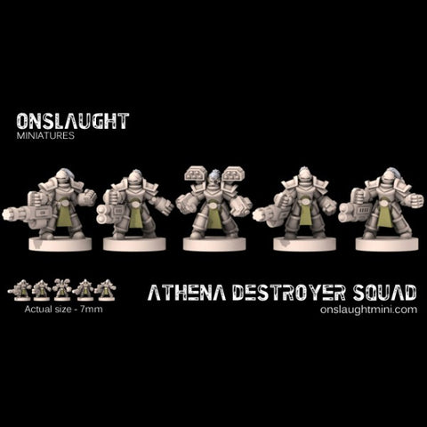 Sisterhood Athena Destroyer Squad??
