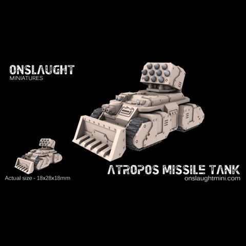 Sisterhood Atropos Rocket Tanks??