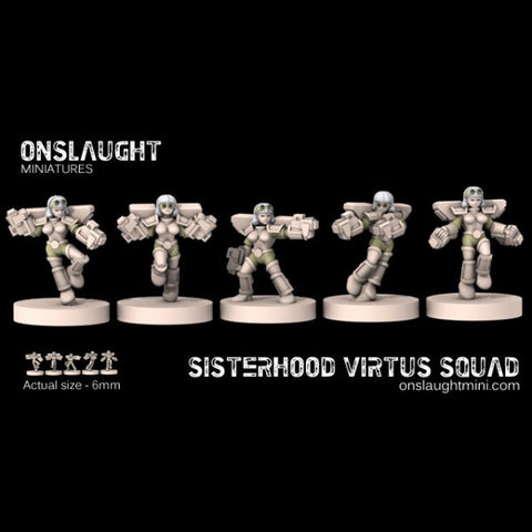 Sisterhood Virtus Squad??