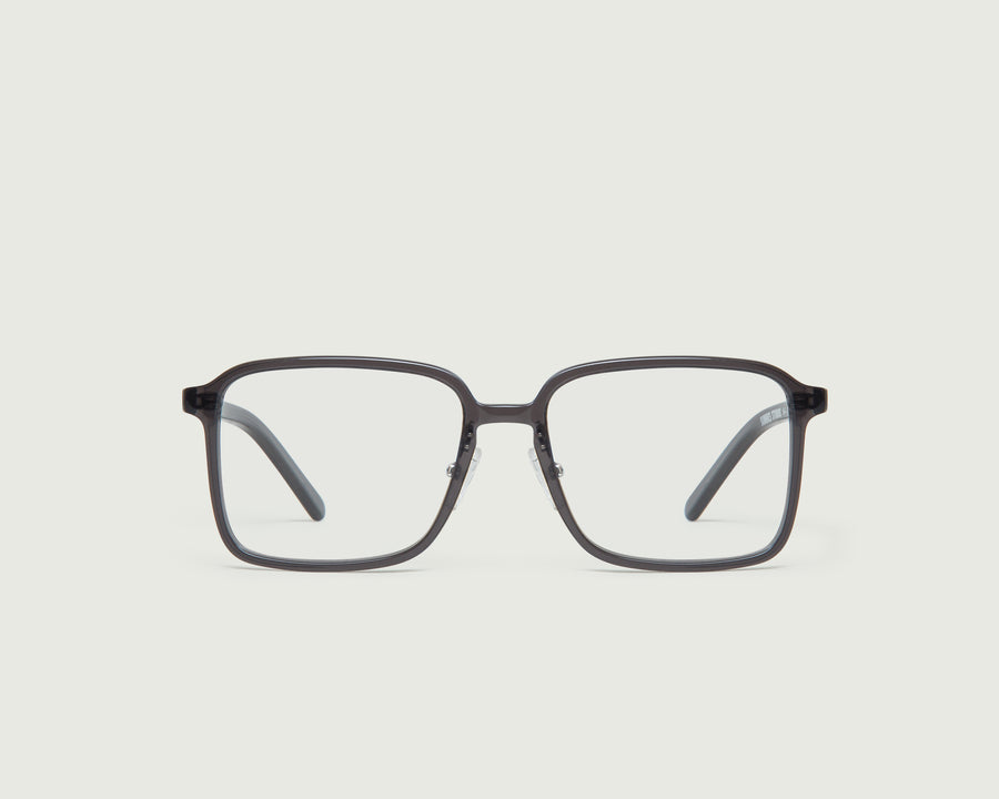 Dex+ Eyeglasses square black acetate front
