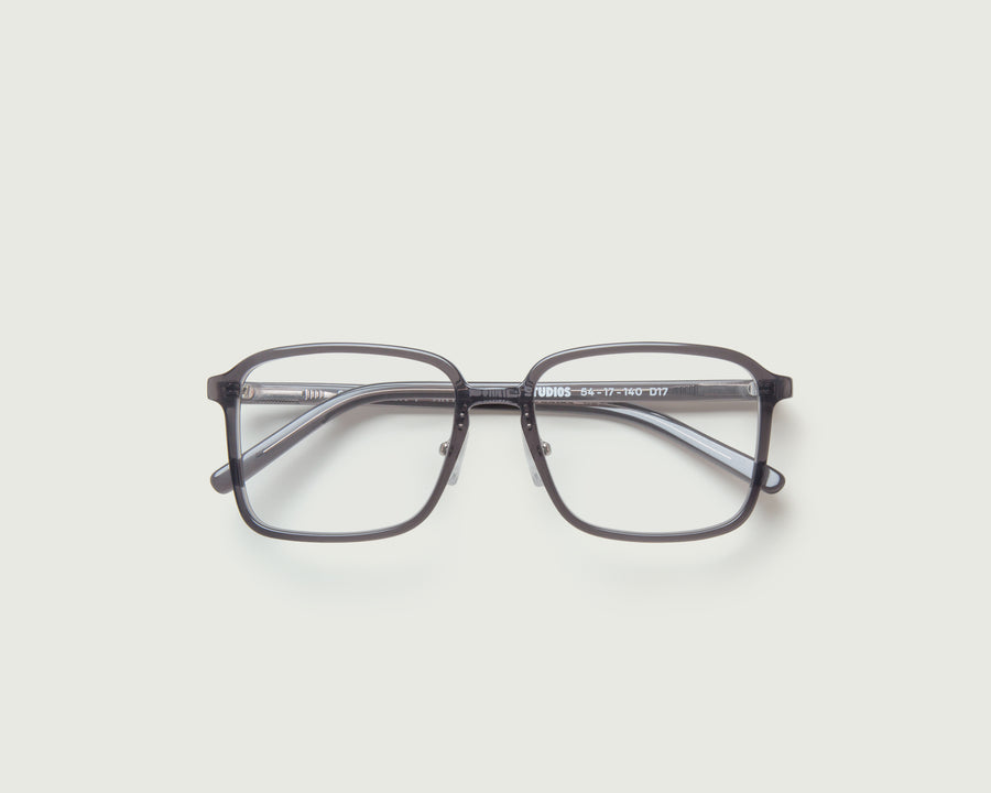 Dex+ Eyeglasses square black acetate top