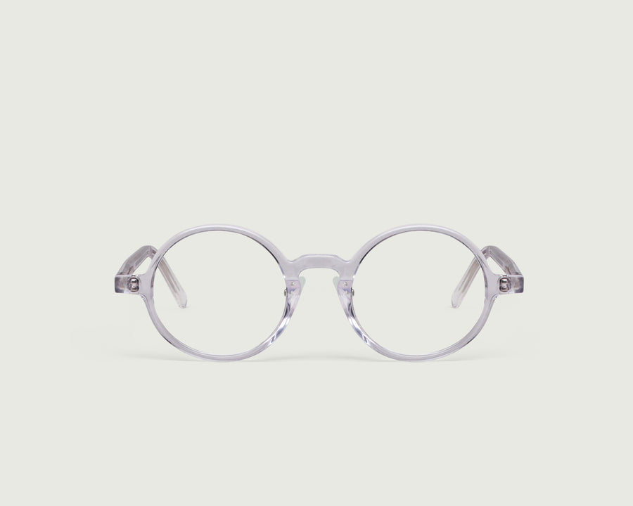 Ono+ Eyeglasses round clear acetate front