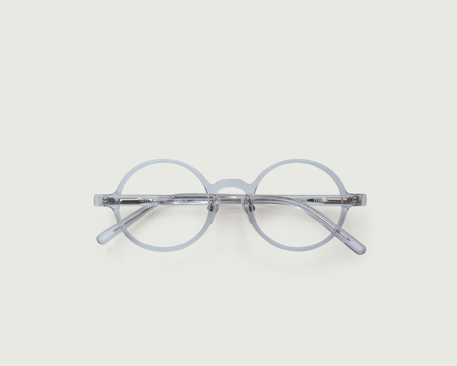 Ono+ Eyeglasses round clear acetate top