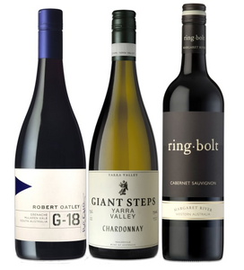 Australian Wine Trio - Just the bottles!