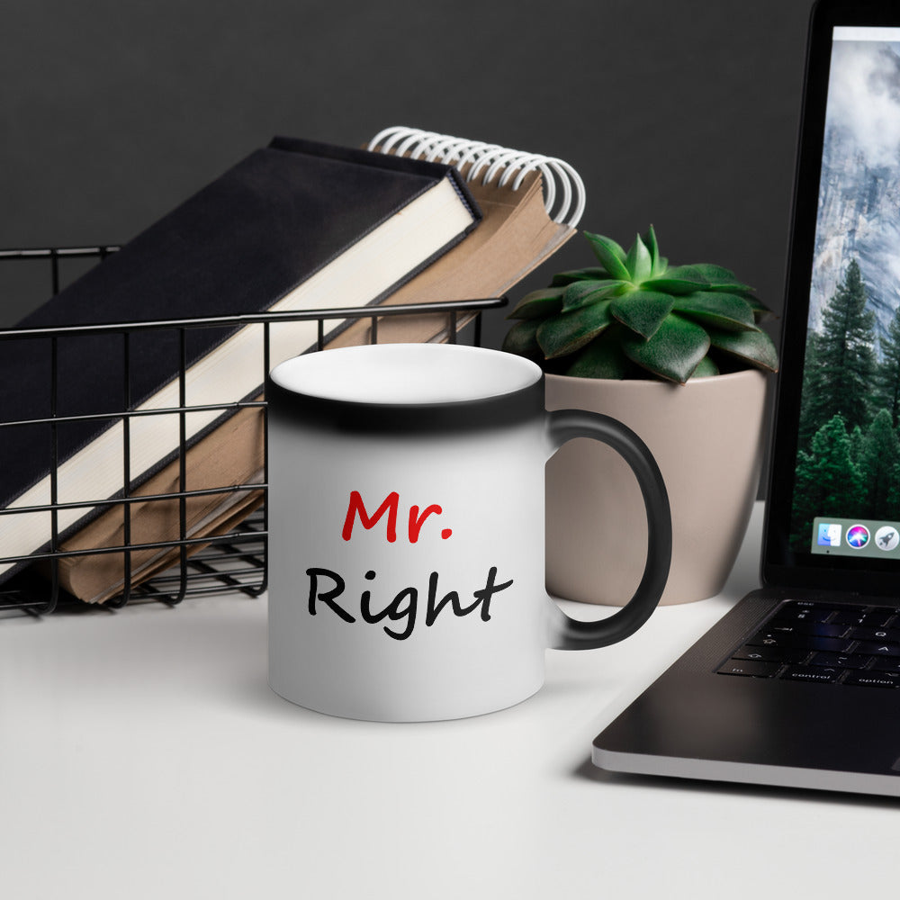 Mr. Right Black Magic Mug