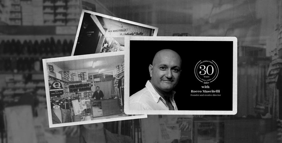 Celebrating 30 Years with Founder and Creative Director, Rocco Mascitelli