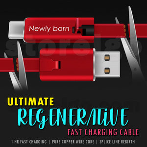 Ultimate Regenerative Fast Charging Cable (6.56ft/2m)