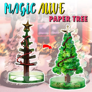 Magic Alive Paper Tree
