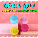 Clear & Glow Silicone Face Cleansing Brush