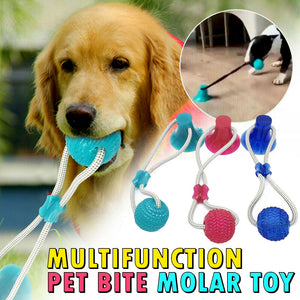 Multifunction Pet Bite Molar Toy