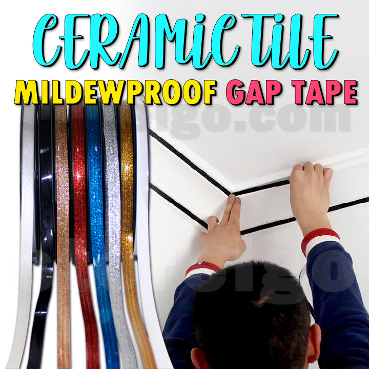 Ceramic Tile Mildewproof Gap Tape (19.7ft)
