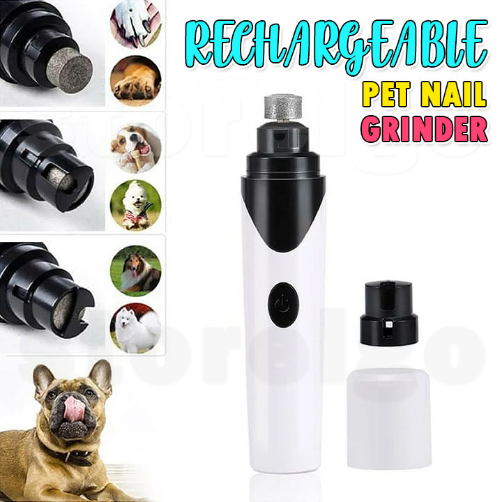 Rechargeable Pet Nail Grinder