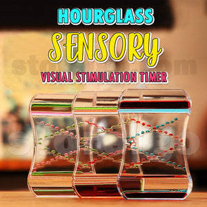 Hourglass Sensory Visual Stimulation Timer