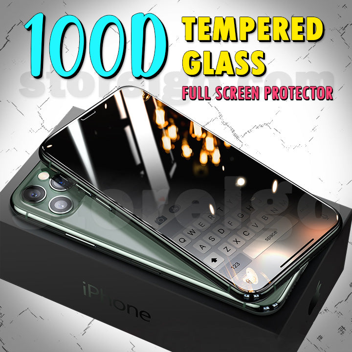 100D Tempered Glass Full Screen Protector