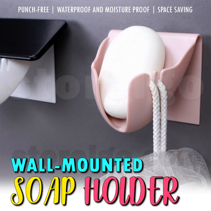 Wall-Mounted Soap Holder