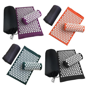 Acupressure Mat - #1 Best Kept Secret for Easy Pain-Relief and Rejuvenation!