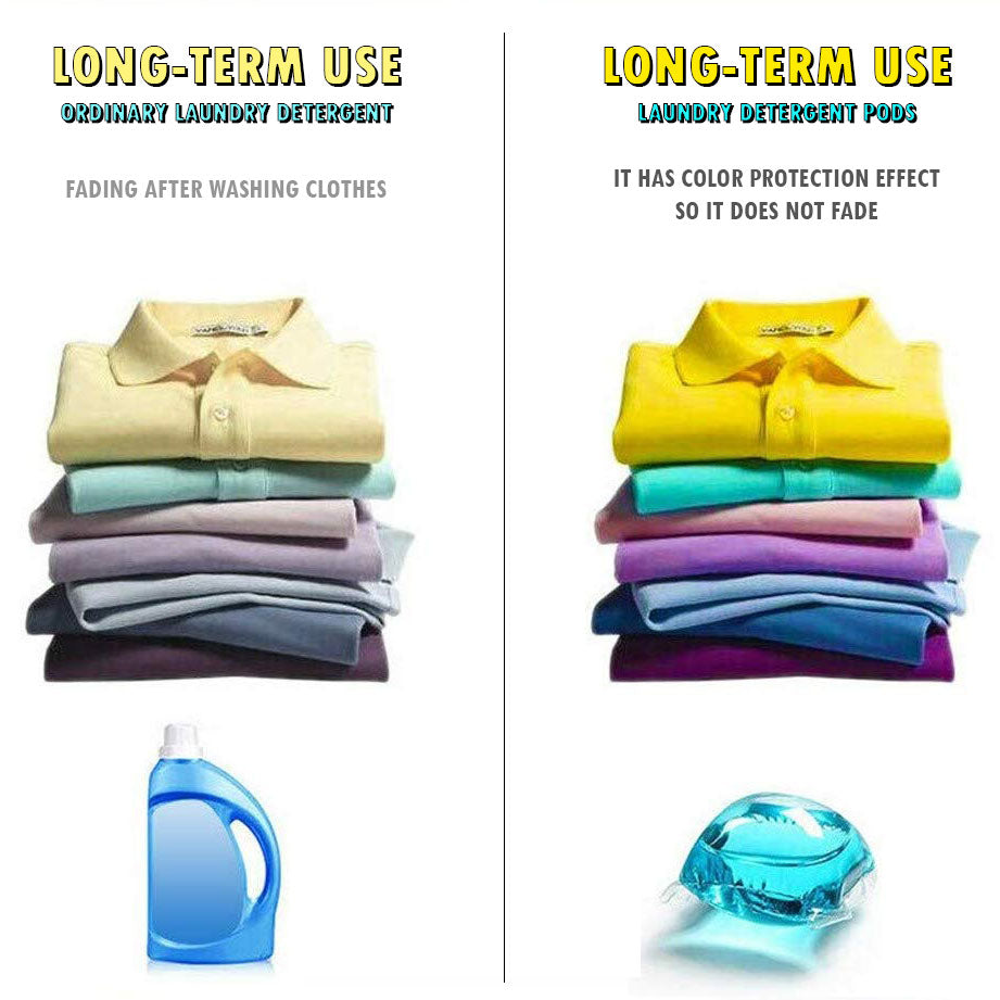Powerful Laundry Detergent Pods (30 pcs)