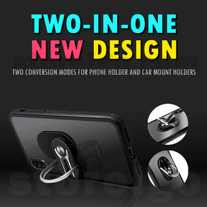 Multi-function Phone Ring Holder