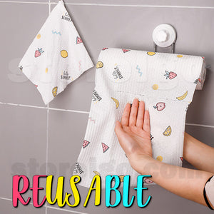 Easy To Clean Oil-Free Dishcloth (50 pcs)