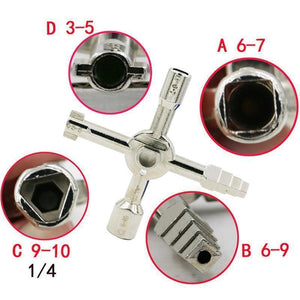 10 In 1 Electric Control Cabinet Key Wrench