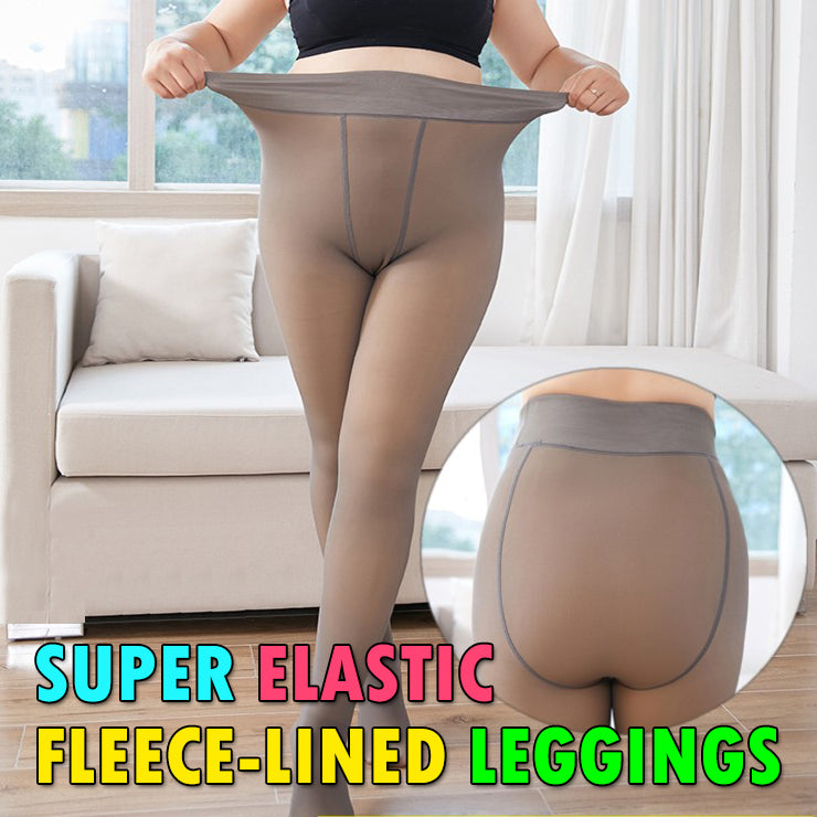 Super Elastic Fleece-Lined Leggings