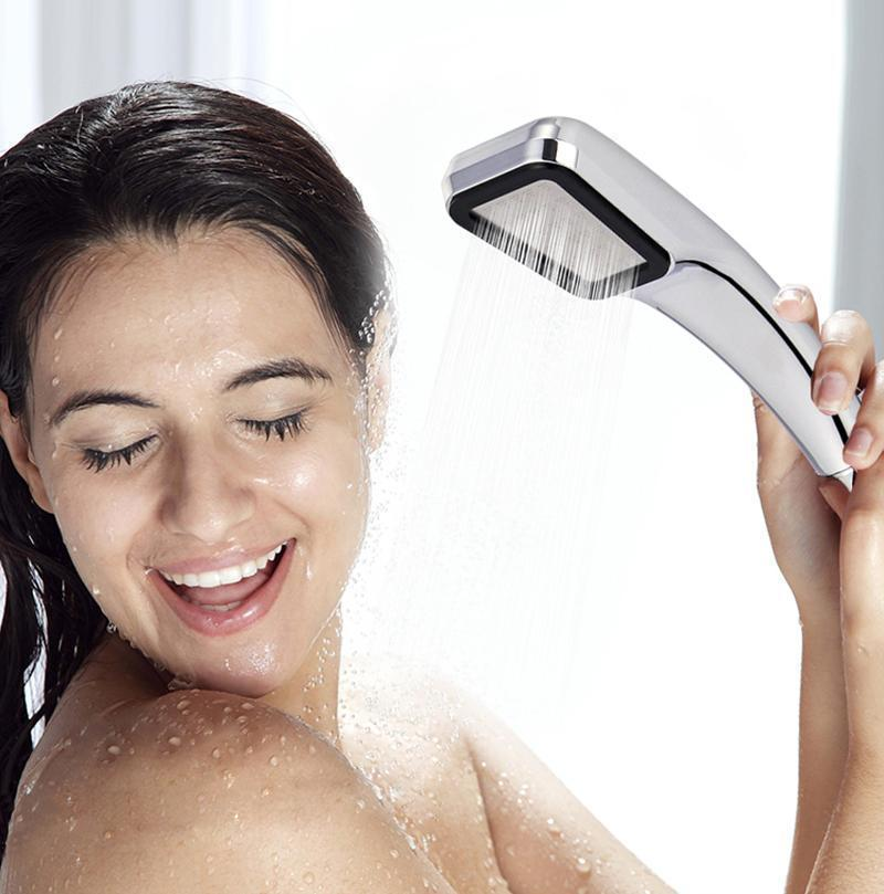 300 Holes Pressurized Water Saving Shower Head