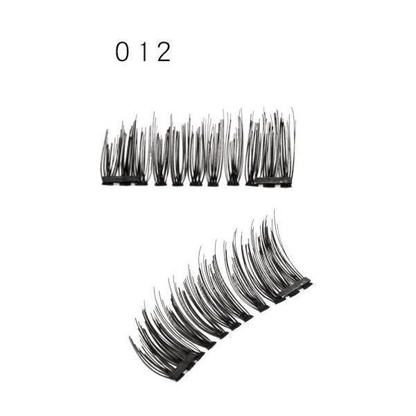3D Double Magnet False Eyelashes (4PCS/SET)
