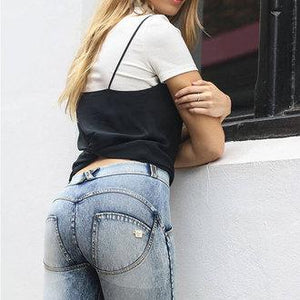 Sexy Hip Push Up Stretchy Jeans