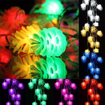 4M LED String Pine Cones