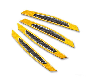 4PCS Luminous Car Reflective Strip