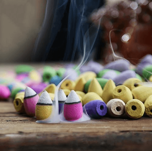 50Pcs Backflow Incense Aromatherapy Cones