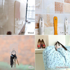 6 PCS Super Sticky Wall Hooks